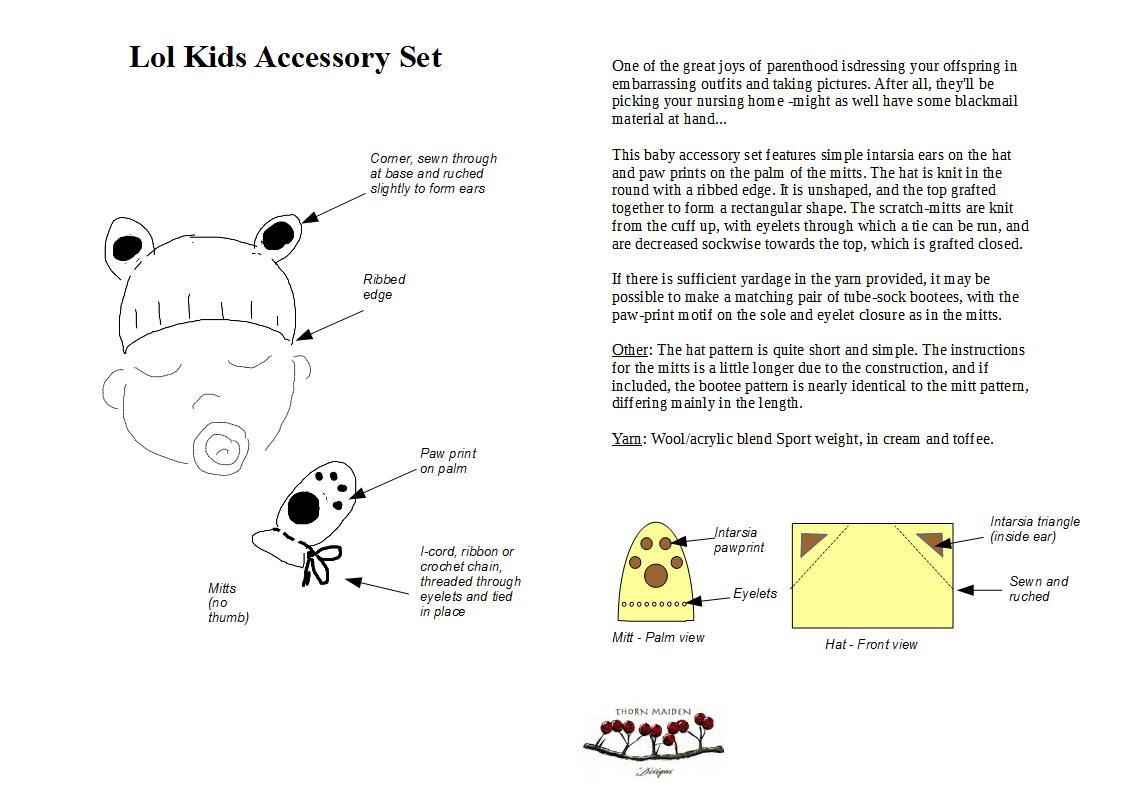 Lol Kids Accessories