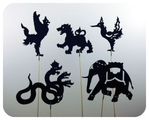 Thai Shadow Puppets